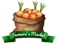 αγορά s αγροτών Στοκ Εικόνες