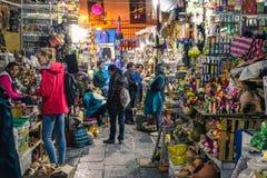 Αγορά SAN Pedro/Cusco/Περού/07-14-2017 Στοκ εικόνα με δικαίωμα ελεύθερης χρήσης