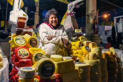 Αγορά SAN Pedro/Cusco/Περού/07-14-2017 Στοκ Εικόνες