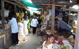 Αγορά Stonetown zanzibar Στοκ Εικόνες