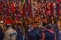 Αγορά Varvakios Στοκ Εικόνες