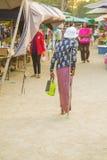 Αγορές ανθρώπων Στοκ Φωτογραφία
