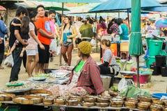 Αγορές ανθρώπων Στοκ Εικόνες