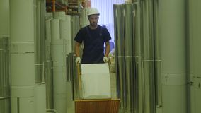 Αγορές ατόμων έννοιας Η υπεραγορά κατασκευής είναι παράδεισος για τα άτομα artisans Ένα άτομο εργάζεται σε ένα κατάστημα κατασκευ Στοκ φωτογραφίες με δικαίωμα ελεύθερης χρήσης