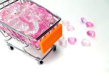 Αγορές για την αγάπη Στοκ εικόνα με δικαίωμα ελεύθερης χρήσης