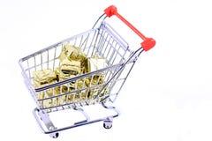 αγορές δώρων Χριστουγένν&omeg στοκ εικόνα με δικαίωμα ελεύθερης χρήσης