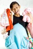 αγορές εγκυμοσύνης ιματ στοκ εικόνες