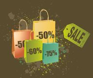 αγορές εικόνας απεικόνι&sigm Διανυσματική απεικόνιση