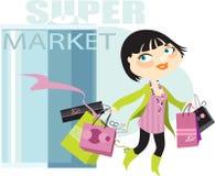 αγορές επιτυχείς Ελεύθερη απεικόνιση δικαιώματος