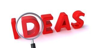 αγορές ιδεών χλόης έννοιας κάρρων βολβών Στοκ Εικόνα