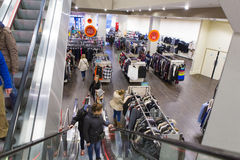 αγορές κεντρικών εσωτερικές λεωφόρων Στοκ Εικόνες