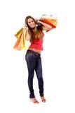 αγορές κοριτσιών Στοκ φωτογραφίες με δικαίωμα ελεύθερης χρήσης