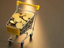 αγορές μετρητών Στοκ φωτογραφία με δικαίωμα ελεύθερης χρήσης