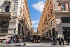 Αγορές οδών στη Ρώμη Στοκ φωτογραφία με δικαίωμα ελεύθερης χρήσης