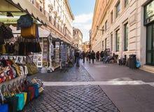 Αγορές οδών στη Ρώμη Στοκ εικόνες με δικαίωμα ελεύθερης χρήσης