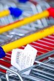 αγορές παραλαβών κάρρων Στοκ φωτογραφία με δικαίωμα ελεύθερης χρήσης
