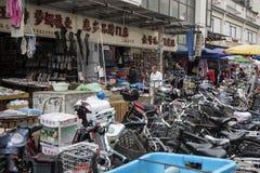Αγορές, παλαιά πόλη της Σαγκάη Στοκ Εικόνες