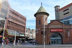 Αγορές Σίδνεϊ Νότια Νέα Ουαλία Αυστραλία ορυζώνα Στοκ εικόνα με δικαίωμα ελεύθερης χρήσης
