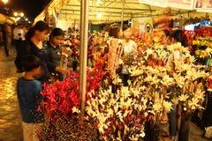 αγορές στην ασημένια παγόδα της Royal Palace ημέρας της ανεξαρτησίας της Καμπότζης Στοκ φωτογραφίες με δικαίωμα ελεύθερης χρήσης