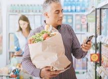 Αγορές στο κατάστημα στοκ εικόνες με δικαίωμα ελεύθερης χρήσης