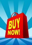 αγορές τσαντών Στοκ φωτογραφία με δικαίωμα ελεύθερης χρήσης