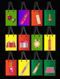 αγορές τσαντών Στοκ εικόνα με δικαίωμα ελεύθερης χρήσης