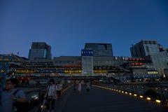 αγορές Τόκιο γεφυρών Στοκ Εικόνες