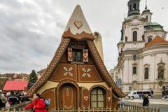 Αγορές Χριστουγέννων της Πράγας στοκ εικόνα