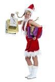αγορές Χριστουγέννων Στοκ εικόνες με δικαίωμα ελεύθερης χρήσης