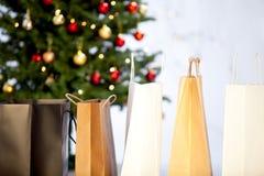 αγορές Χριστουγέννων Στοκ Εικόνα