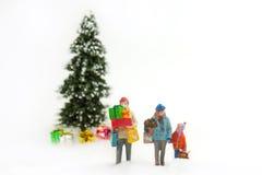 αγορές Χριστουγέννων Στοκ Φωτογραφίες
