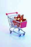 αγορές Χριστουγέννων Στοκ εικόνα με δικαίωμα ελεύθερης χρήσης