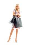 αγορές 2 κυρίας Στοκ εικόνα με δικαίωμα ελεύθερης χρήσης