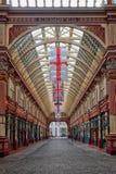 Αγορές arcade Λονδίνο UK αγοράς Leadenhall Στοκ Εικόνα