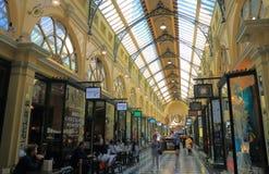 Αγορές arcade Μελβούρνη Αυστραλία Στοκ εικόνες με δικαίωμα ελεύθερης χρήσης