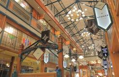 Αγορές arcade Μπρίσμπαν Αυστραλία Στοκ Εικόνες
