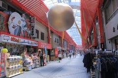 Αγορές arcade Νάγκουα Ιαπωνία Kannon Osu Στοκ Φωτογραφία