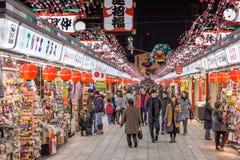 Αγορές Arcade ναών στην Ιαπωνία Στοκ εικόνες με δικαίωμα ελεύθερης χρήσης
