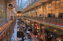 Αγορές arcade Σίδνεϊ Αυστραλία Στοκ εικόνα με δικαίωμα ελεύθερης χρήσης