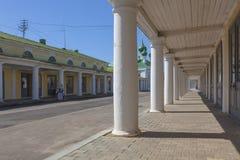 Αγορές arcade στην πόλη Kostroma Στοκ εικόνες με δικαίωμα ελεύθερης χρήσης