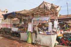 Αγορές arcade στην πόλη του Jodhpur Rajasthan, Ινδία Στοκ Εικόνα