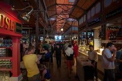 Αγορές arcade της διάσημης αγοράς SAN Miguel στη Μαδρίτη Στοκ Εικόνα