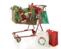 Αγορές Cashe Χριστουγέννων Στοκ εικόνες με δικαίωμα ελεύθερης χρήσης