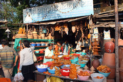 Αγορές Diwali Στοκ εικόνα με δικαίωμα ελεύθερης χρήσης