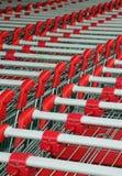 αγορές troleys Στοκ φωτογραφίες με δικαίωμα ελεύθερης χρήσης