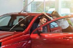 Αγοραστής αυτοκινήτων Στοκ Φωτογραφίες