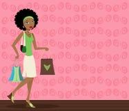 αγοραστής αφροαμερικάν&ome Στοκ Φωτογραφίες