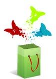 Αγοραστής πεταλούδων Στοκ εικόνα με δικαίωμα ελεύθερης χρήσης