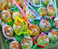 λαγουδάκι αυγών Πάσχας χειροποίητο Στοκ Εικόνες