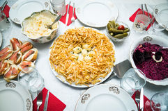 Αγριόκουρκος γρύλων σαλάτας Στοκ Εικόνες